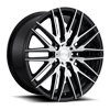 5 LUG ANZIO - M165 GLOSS BLACK & BRUSHED 20X9
