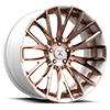 5 LUG OTL887 WHITE WITH ROSE TINT FACE