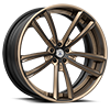 5 LUG OTL895 BRONZE AND BLACK