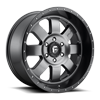 6 LUG BAJA - D628 ANTHRACITE WITH BLACK LIP