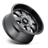5 LUG BAJA - D628 ANTHRACITE WITH BLACK LIP