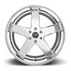 5 LUG BIG BALLER - S222 CHROME