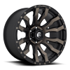 6 LUG BLITZ - D674 MATTE BLACK/MACHINED/DDT