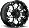8 LUG NUTZ - D541 BLACK & MACHINED