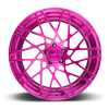 5 LUG BLQ-T BRUSHED TRANS GRAPE