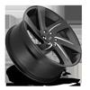 6 LUG BODINE - F167 BLACK & MILLED