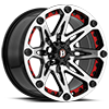 5 LUG 814 JESTER GLOSS BLACK MACHINED