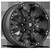 5 LUG 845 MORAX FLAT BLACK