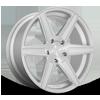 5 LUG CARINA - M235 22X9.5 | SILVER BRUSHED