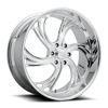 6 LUG CHEYENNE 6 - PRECISION SERIES POLISHED