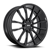 6 LUG CLOUT - S253 GLOSS BLACK