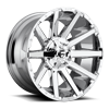6 LUG CONTRA - D614 CHROME