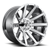 6 LUG CONTRA - D614 22X12 | CHROME