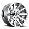 8 LUG CONTRA - D614 20X10 | CHROME