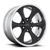 6 LUG COUPE - F428 CONCAVE GLOSS BLACK | POLISHED