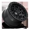 6 LUG COVERT BEADLOCK - D114 MATTE BLACK W/ MATTE BLACK RING