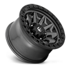 5 LUG COVERT - D716 MATTE ANTHRACITE W/ BLACK RING