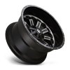 8 LUG CRUSH - D561 22X12   GLOSS BLACK DOUBLE DARK TINT
