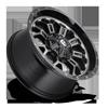 6 LUG CRUSH - D561 GLOSS BLACK DOUBLE DARK TINT