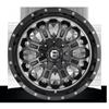 8 LUG CRUSH - D561 GLOSS BLACK DOUBLE DARK TINT