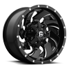 6 LUG CLEAVER - D574 GLOSS BLACK & MILLED