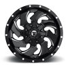 8 LUG CLEAVER - D574 GLOSS BLACK & MILLED