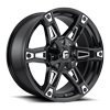 5 LUG DAKAR - D622 GLOSS BLACK & MILLED