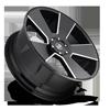 6 LUG DEL GRANDE - S230 GLOSS BLACK & MILLED