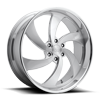 6 LUG DESPERADO 6 - PRECISION SERIES BRUSHED W/ POLISHED WINDOWS
