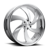 6 LUG DESPERADO 6 - PRECISION SERIES BRUSHED W/ POLISHED LIP