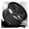 5 LUG DTM GLOSS BLACK