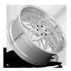 6 LUG XB80 26X10 | BRUSHED FACE/ POLISHED ACCENTS / POLISHED LIP