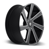 5 LUG DIRECTA - S133 BLACK & MILLED