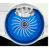 5 LUG S609 - FANTASY FANTASY BLUE