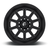 10 LUG FF09D - SUPER SINGLE FRONT MATTE BLACK & MILLED