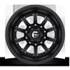 10 LUG FF09D - REAR MATTE BLACK & MILLED