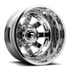 8 LUG FF09D - 8 LUG REAR 22X8.25 | POLISHED