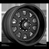 10 LUG FF09D - 10 LUG SUPER SINGLE FRONT MATTE BLACK