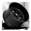 6 LUG FF104 TRIPLE CANDY BLACK