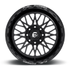 8 LUG FF104 GLOSS BLACK & MILLED
