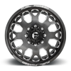 8 LUG FF19D - FRONT CANDY BLACK AND MILLED