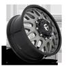 10 LUG FF19D - FRONT MATTE TITANIUM W/ GLOSS BLACK LIP
