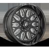 10 LUG FF19D - SUPER SINGLE FRONT 22X10 | CANDY BLACK MILLED