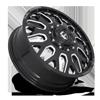 10 LUG FF19D - FRONT GLOSS BLACK & MILLED