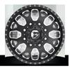 8 LUG FF19D - FRONT MATTE BLACK & MILLED