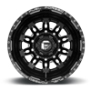 10 LUG FF26D - 10 LUG REAR GLOSS BLACK & MILLED
