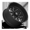 10 LUG FF26D - SUPER SINGLE FRONT MATTE BLACK & MILLED