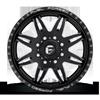 8 LUG FF26D - FRONT GLOSS BLACK & MILLED