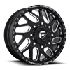 8 LUG FF29D - FRONT GLOSS BLACK & MILLED