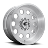 10 LUG FF31D - 10 LUG SUPER SINGLE FRONT BRUSHED GLOSS CLEAR